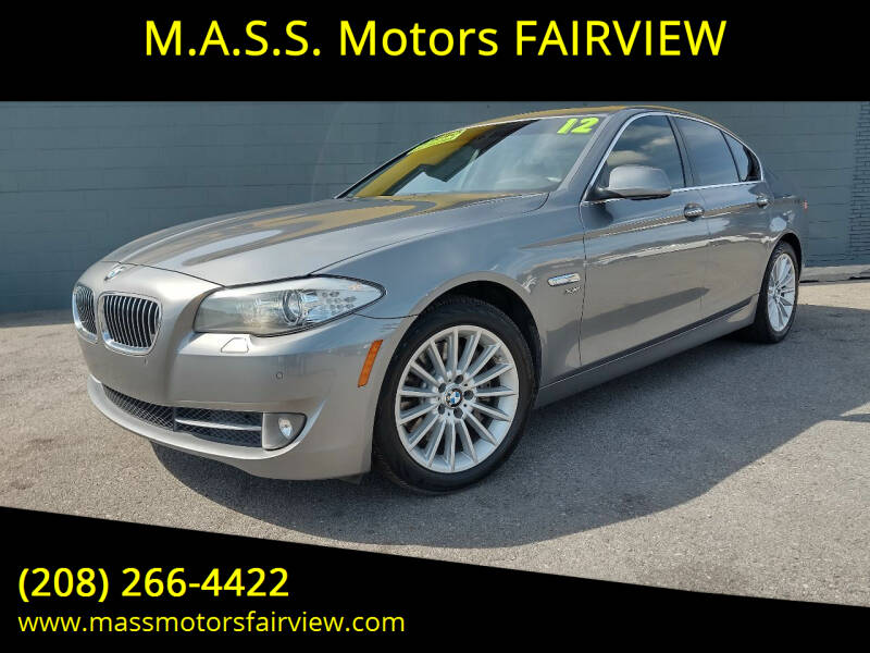 2012 BMW 5 Series for sale at M.A.S.S. Motors - Fairview in Boise ID