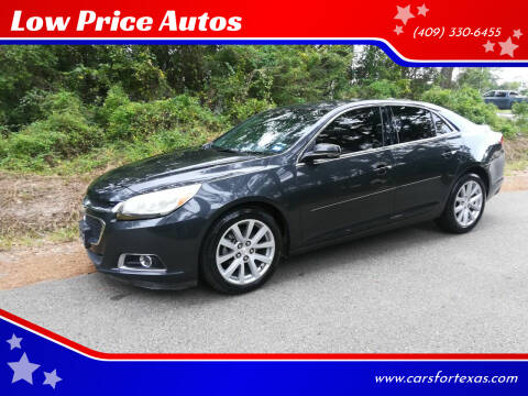2015 Chevrolet Malibu for sale at Low Price Autos in Beaumont TX