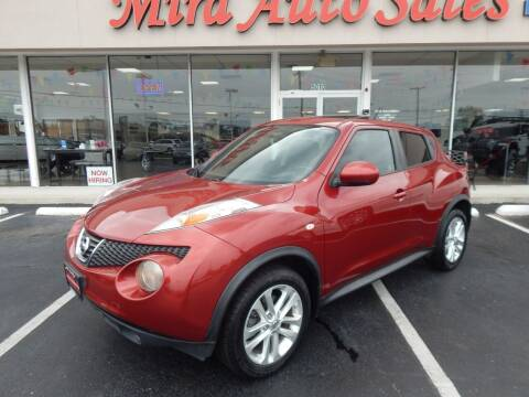 2014 Nissan JUKE for sale at Mira Auto Sales in Dayton OH