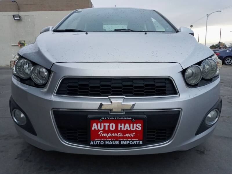 2015 Chevrolet Sonic for sale at Auto Haus Imports in Grand Prairie TX