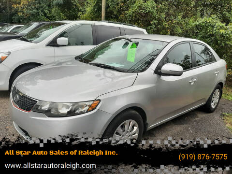 2012 Kia Forte for sale at All Star Auto Sales of Raleigh Inc. in Raleigh NC
