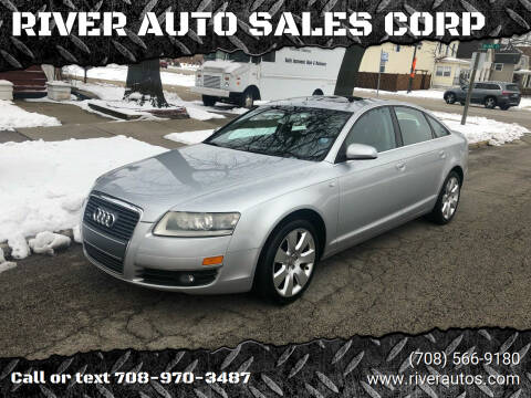 2006 Audi A6 for sale at RIVER AUTO SALES CORP in Maywood IL