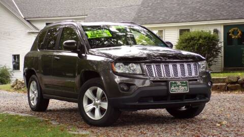 2014 Jeep Compass for sale at The Auto Barn in Berwick ME