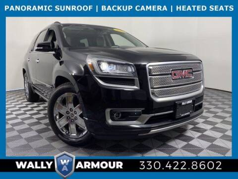2016 GMC Acadia for sale at Wally Armour Chrysler Dodge Jeep Ram in Alliance OH