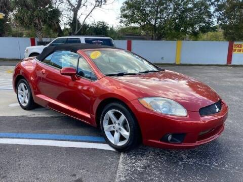 2009 Mitsubishi Eclipse Spyder for sale at Used Cars of SWFL in Fort Myers FL