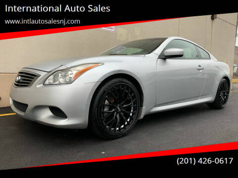 2008 Infiniti G37 for sale at International Auto Sales in Hasbrouck Heights NJ