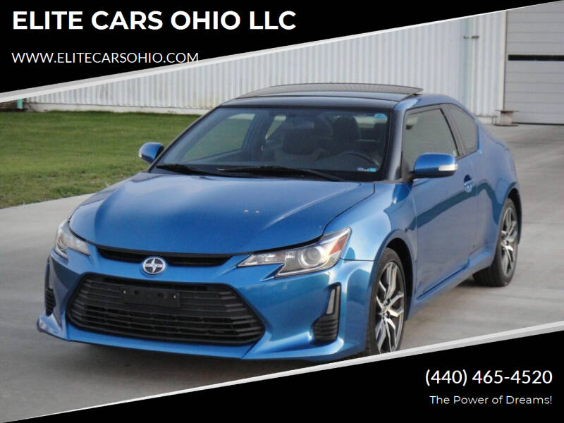 2015 Scion tC for sale at ELITE CARS OHIO LLC in Solon OH