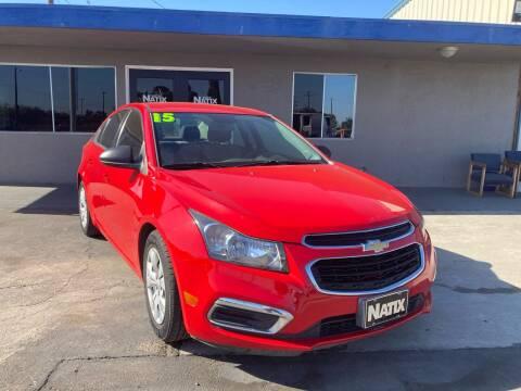 2015 Chevrolet Cruze for sale at AUTO NATIX in Tulare CA