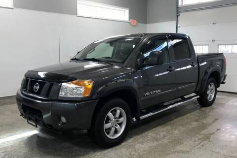 2012 Nissan Titan for sale at B Town Motors in Belchertown MA