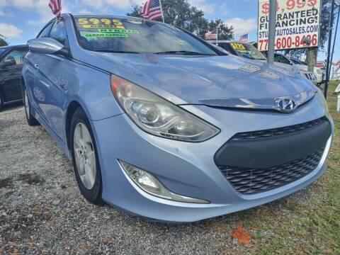 2012 Hyundai Sonata Hybrid for sale at AFFORDABLE AUTO SALES OF STUART in Stuart FL