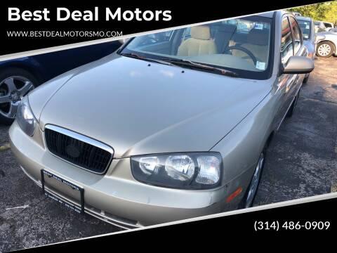 2003 Hyundai Elantra for sale at Best Deal Motors in Saint Charles MO