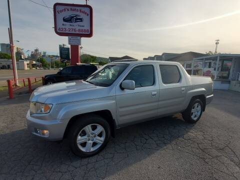 2011 Honda Ridgeline for sale at Ford's Auto Sales in Kingsport TN