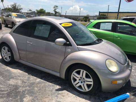 2003 Volkswagen New Beetle for sale at Jack's Auto Sales in Port Richey FL