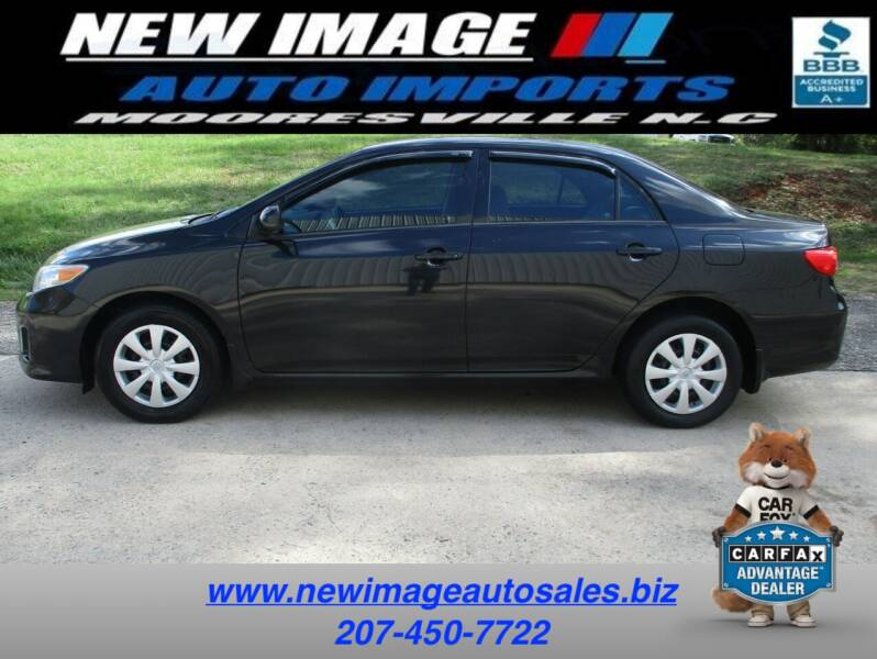 2012 Toyota Corolla for sale at New Image Auto Imports Inc in Mooresville NC