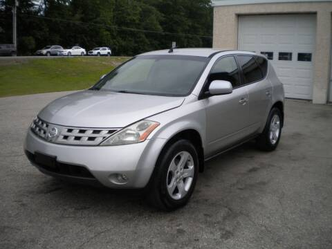2004 Nissan Murano for sale at Route 111 Auto Sales in Hampstead NH