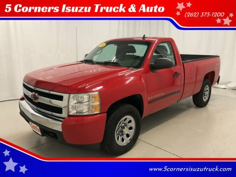 2008 Chevrolet Silverado 1500 for sale at 5 Corners Isuzu Truck & Auto in Cedarburg WI
