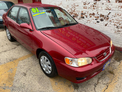 2001 Toyota Corolla for sale at 5 Stars Auto Service and Sales in Chicago IL