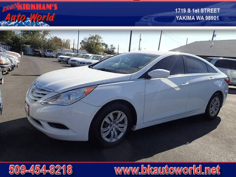 2012 Hyundai Sonata for sale at Bruce Kirkham Auto World in Yakima WA