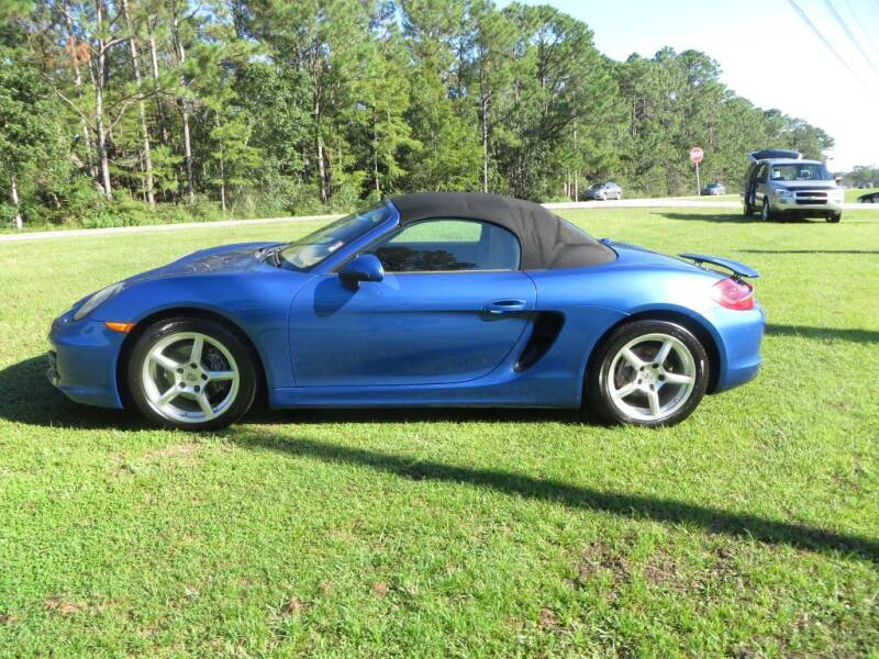 2014 Porsche Boxster for sale at Ward's Motorsports in Pensacola FL