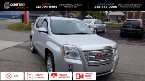 2012 GMC Terrain for sale at Quattro Motors 2 in Farmington Hills MI