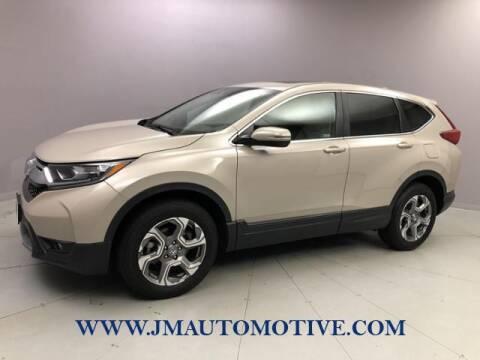 2019 Honda CR-V for sale at J & M Automotive in Naugatuck CT