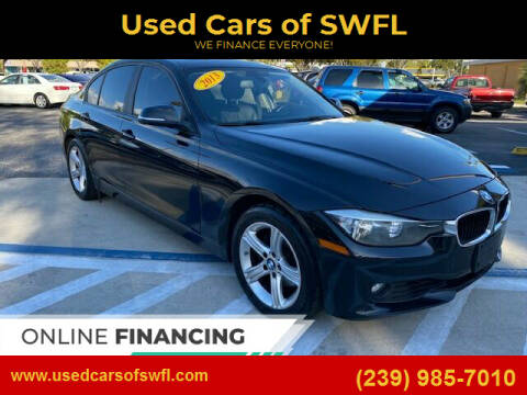 2013 BMW 3 Series for sale at Used Cars of SWFL in Fort Myers FL