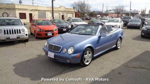 2001 Mercedes-Benz CLK for sale at RVA MOTORS in Richmond VA