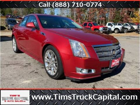 2011 Cadillac CTS for sale at TTC AUTO OUTLET/TIM'S TRUCK CAPITAL & AUTO SALES INC ANNEX in Epsom NH
