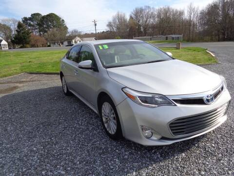 2013 Toyota Avalon Hybrid for sale at European Coach Werkes, Inc in Frankford DE