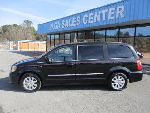 2015 Chrysler Town and Country for sale at NORTH GEORGIA Sales Center in La Fayette GA