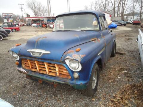 1955 Chevrolet Apache for sale at Marshall Motors Classics in Jackson Michigan MI