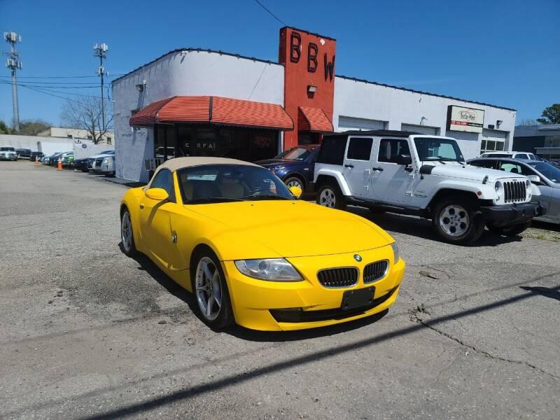 2006 BMW Z4 for sale at Best Buy Wheels in Virginia Beach VA