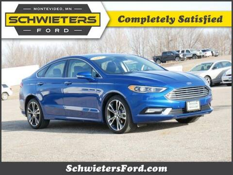 2017 Ford Fusion for sale at Schwieters Ford of Montevideo in Montevideo MN