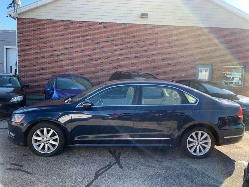 2012 Volkswagen Passat for sale at BAY CITY MOTORS in Portland ME