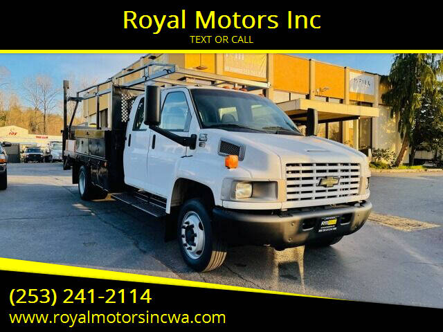 2004 Chevrolet C4500 for sale at Royal Motors Inc in Kent WA