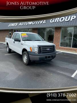 2012 Ford F-150 for sale at Jones Automotive Group in Jacksonville NC