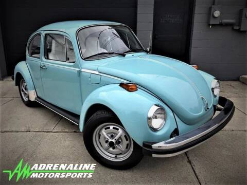 1974 Volkswagen Beetle for sale at Adrenaline Motorsports Inc. in Saginaw MI