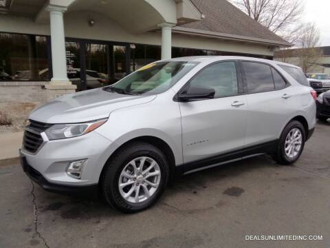 2018 Chevrolet Equinox for sale at DEALS UNLIMITED INC in Portage MI