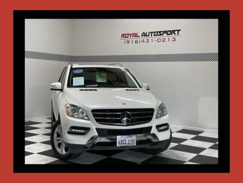2012 Mercedes-Benz M-Class for sale at Royal AutoSport in Sacramento CA