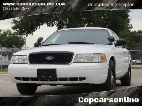 2011 Ford Crown Victoria for sale at Copcarsonline in Largo FL