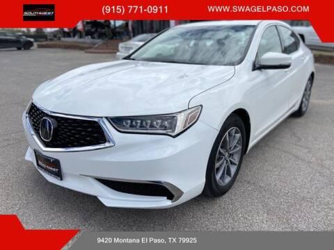 2018 Acura TLX for sale at SOUTHWEST AUTO GROUP-EL PASO in El Paso TX