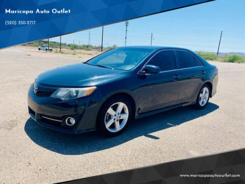 2013 Toyota Camry for sale at Maricopa Auto Outlet in Maricopa AZ