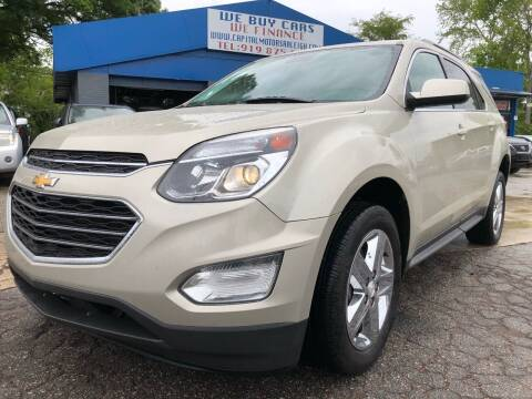 2016 Chevrolet Equinox for sale at Capital Motors in Raleigh NC