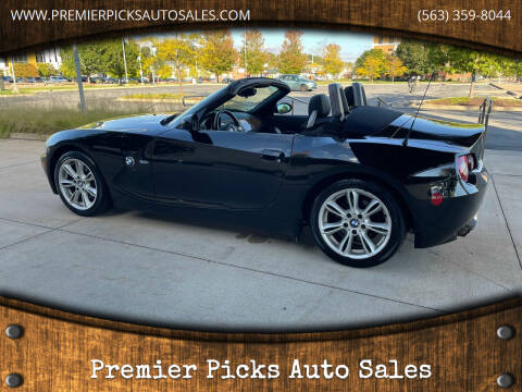 2005 BMW Z4 for sale at Premier Picks Auto Sales in Bettendorf IA