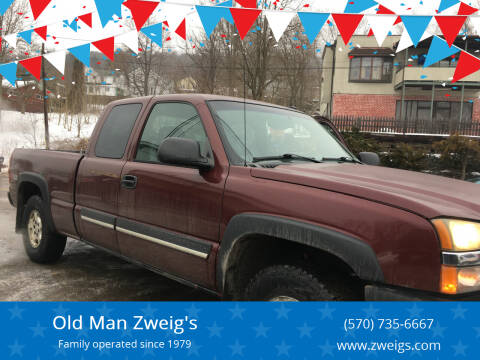 2003 Chevrolet Silverado 1500 for sale at Old Man Zweig's in Plymouth Township PA