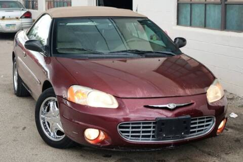 2001 Chrysler Sebring for sale at JT AUTO in Parma OH