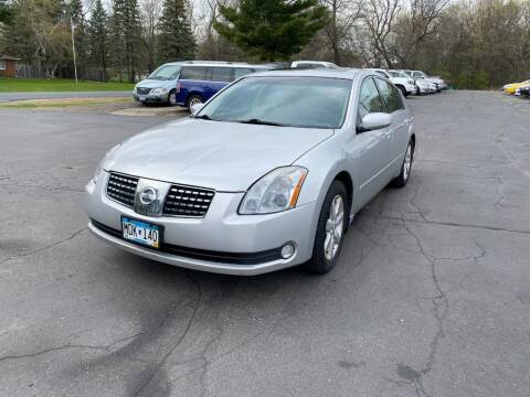 2004 Nissan Maxima for sale at Northstar Auto Sales LLC in Ham Lake MN
