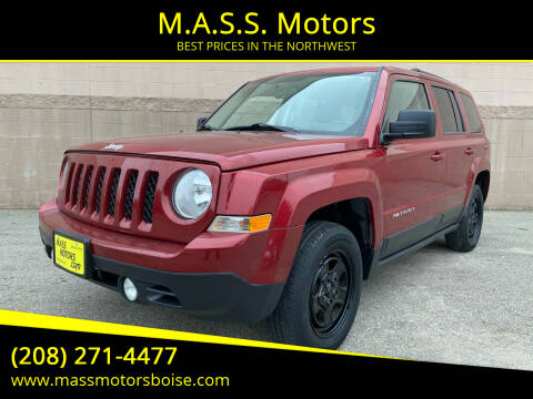 2015 Jeep Patriot for sale at M.A.S.S. Motors in Boise ID