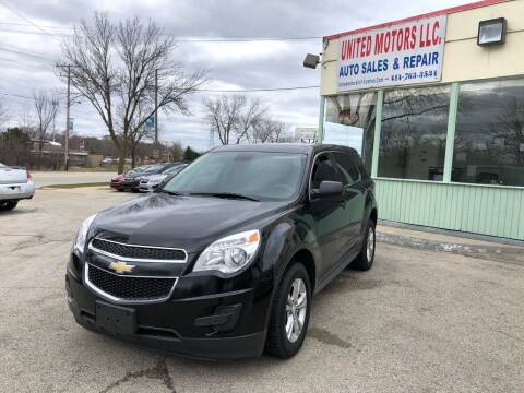 2015 Chevrolet Equinox for sale at United Motors LLC in Saint Francis WI