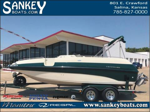 2000 Crownline 212 DB for sale at SankeyBoats.com in Salina KS